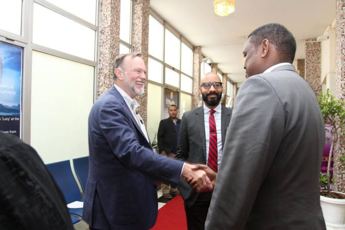 U.S Assistant Secretary on Working Visit Here