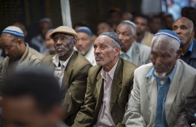 Ethiopian Jews Protest for Right to Immigrate to Israel
