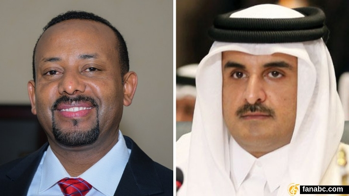 Ethiopia: PM abiy ahmed, Qatari Amir Hold Phone Talks