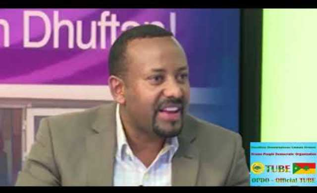 Dr Abiy Ahmed Speech Before 4 Years