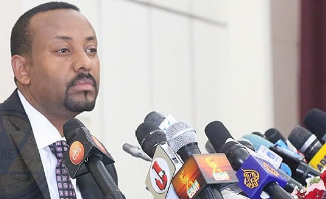 Abiy's face is everywhere: on stickers, t-shirts and posters. But not in Tigray,