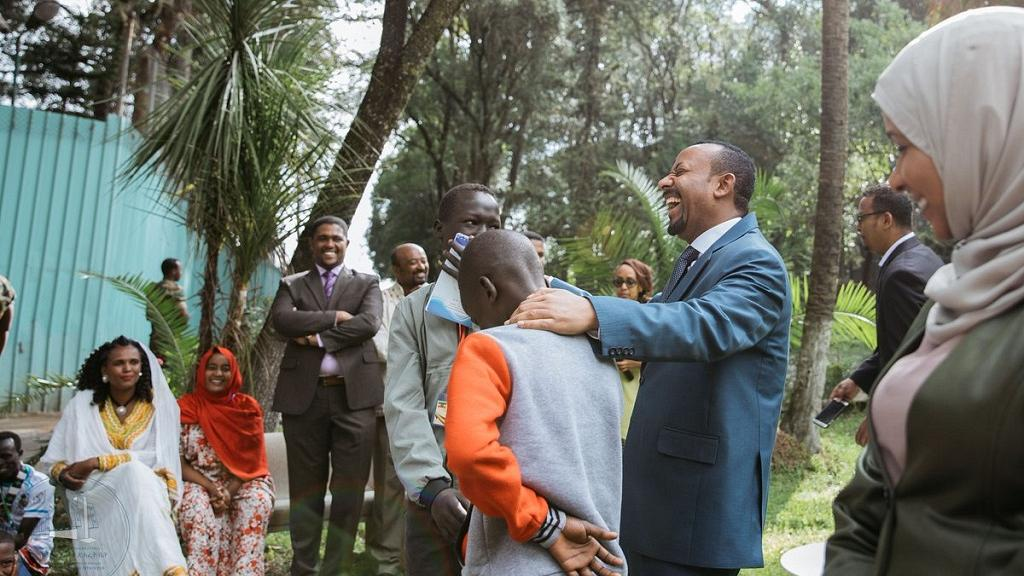 In Photos: Ethiopia PM Abiy Ahmed Hosts Students to Mark 2018 'Unity Day'
