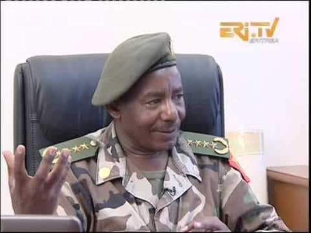 Eritrea's Minister of Mines, General Sibhat Efrem has been injured from a gunshot.