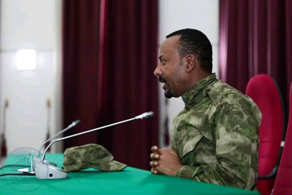 Dr. Abiy Ahmed held talks with Benishangul Gumuz 'People's Democratic Party Central Committee members.