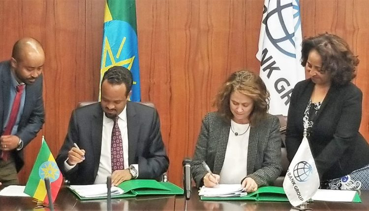 Ethiopia, World Bank Sign $100mln Financing Agreement For Sustainable Land Management Project