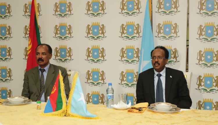 Eritrean, Somali Leaders Agree To Strengthen Historical Relations