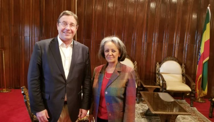 President Sahlework Receives UNDP Chief