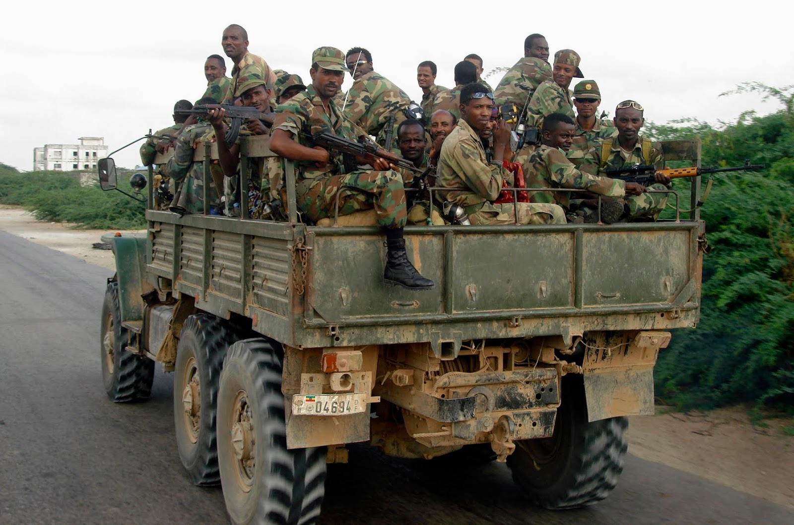Ethiopia: Govt forces battle OLF soldiers in West Wellega