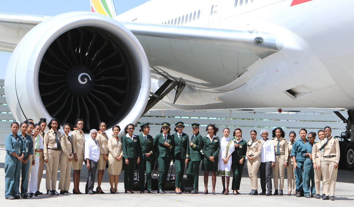 ETHIOPIAN AIRLINES BAGS AABLA COMPANY OF THE YEAR AWARD