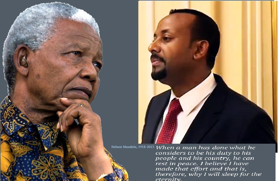 Abiy Ahmed Africa's`s next Great leader after Nelson Mandela?