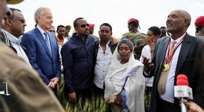 PM Abiy, Tony Blair Visit Development Projects in Bale