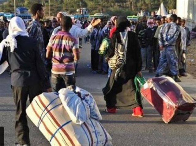 44,500 Ethiopians repatriated from Saudi Arabia