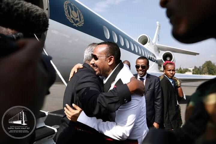 Presidents Of Djibouti, Sudan Arrive In Jimma