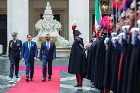 Ethiopian Premier Meets With Pope Francis