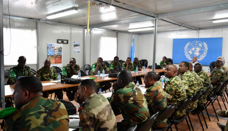 AMISOM To Reconstitute Military Bases To Enhance Troops' Safety