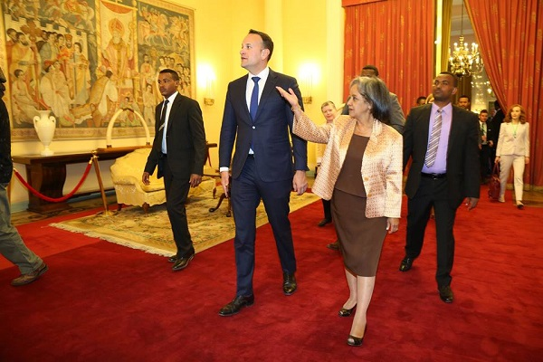 Irish Prime Minister Leo Varadkar in Ethiopia,seeks to foster relation