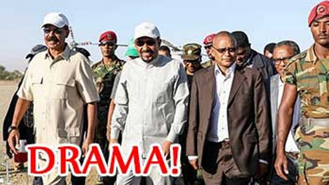 Eritrean and Ethiopian leaders re- opened another border crossing while two others reclose