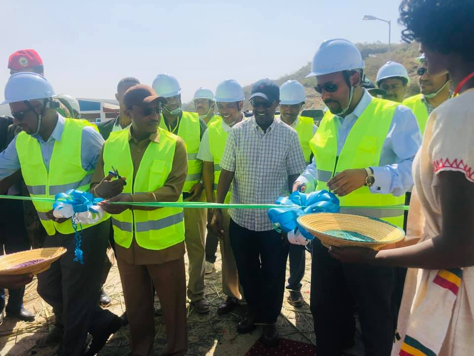 PM Abiy Inaugurates Gidabo Irrigation Dam Project