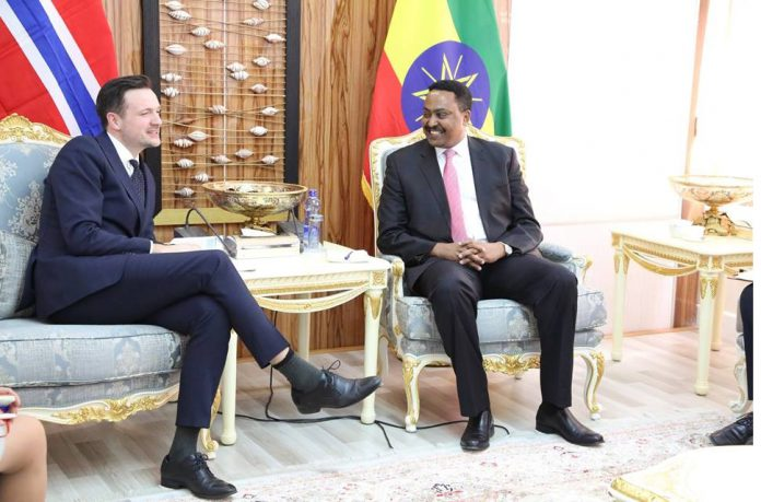 Norway Vows to Support Ethiopia's Comprehensive Reform