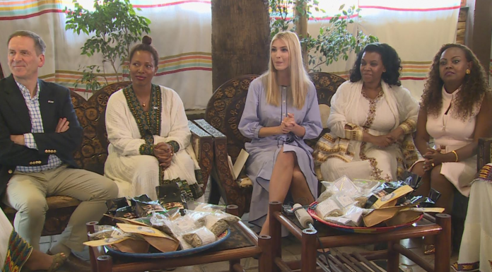 Ivanka Trump Discussed with Women Entrepreneurs in Addis Ababa