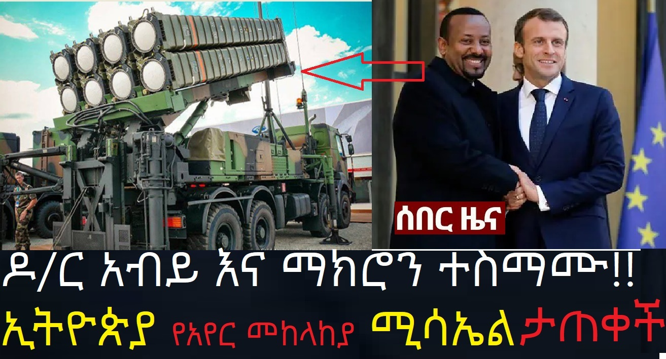 Ethiopia Buy Air Defense System from France